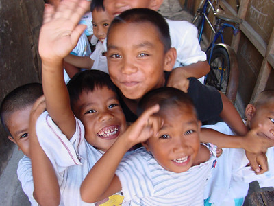 Kids in Sogod, Philippines.