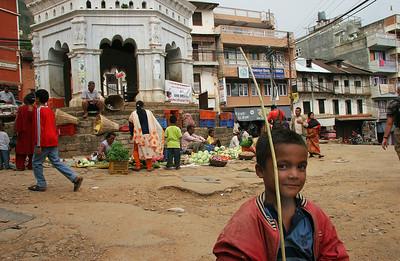 Main square, Tansen, Nepal