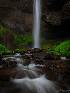 Latourell Falls, Multnomah County, OR