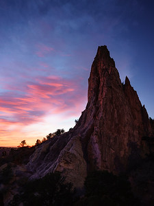 Sunrise in the Garden of the Gods