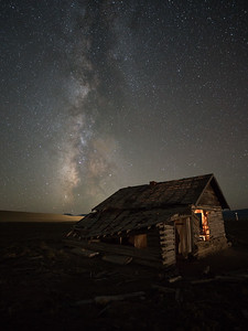 Lone cabin near Hartsel, Park Co, CO