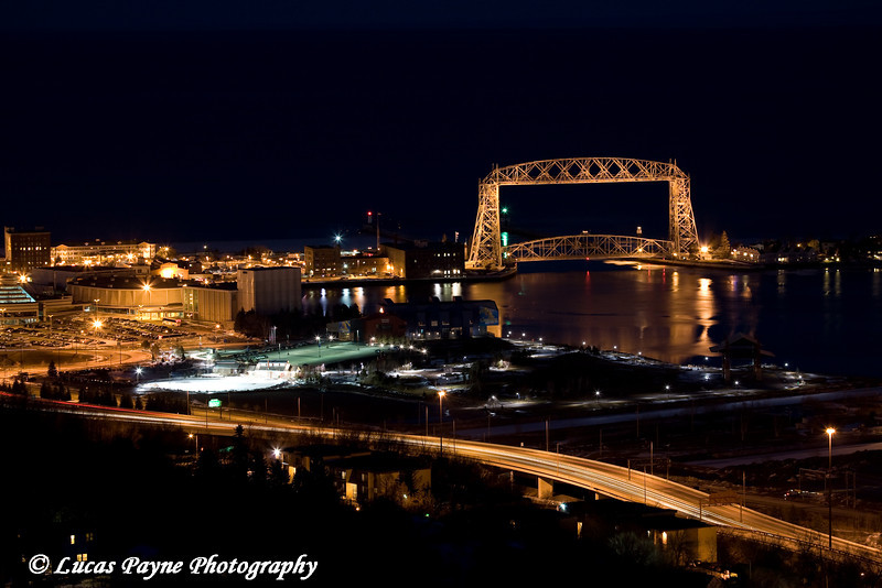 Aerial Lift Bridge in Duluth, Minnesota
