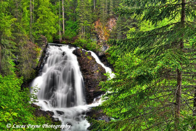 South Fork Eagle River Falls near Eagle River<br /> June 14, 2011<br /> HDR