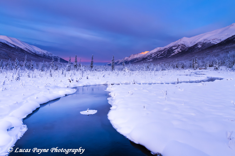 Eagle River Nature Center in Chugach State Park<br /> HDR<br /> November 28, 2011