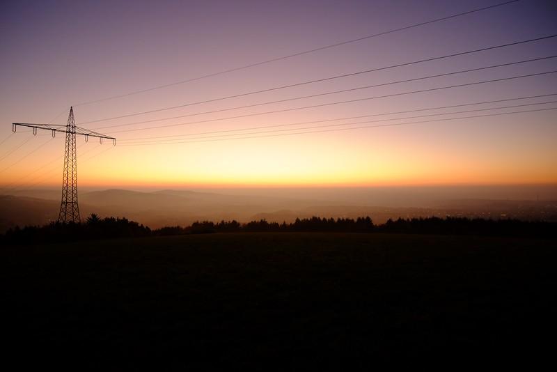 Sunset above Trier-Tarforst