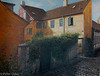 This is a painting of the back of our house in medieval Elsinore