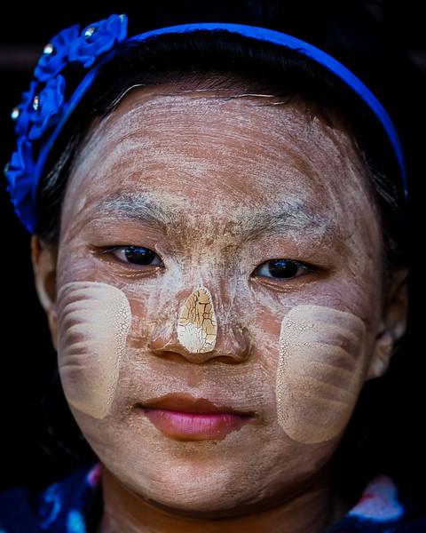 Young Burmese girl