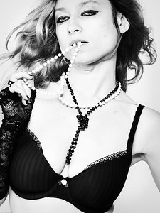 Black and White pearls