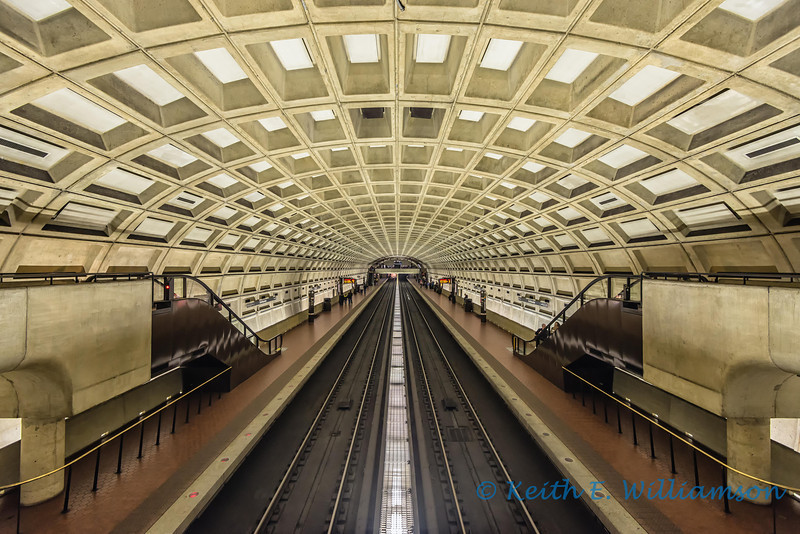 Smithsonian Metro Station, Washington DC