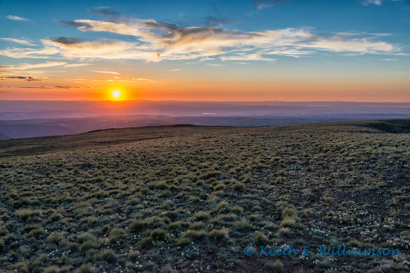 Steens Mountain sunset, Oregon