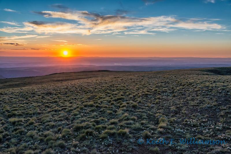 Steens Mountain sunset, Oregon