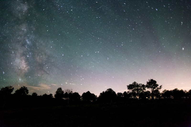 Aurora and Galaxy