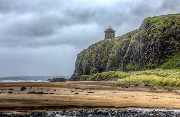Mussenden Temple from Downhill