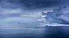 ships at anchor, Chesepeake Bay Virginia