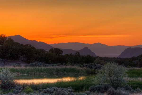 Taken near Cedar City. Sunset on the night of the Venus Transit.