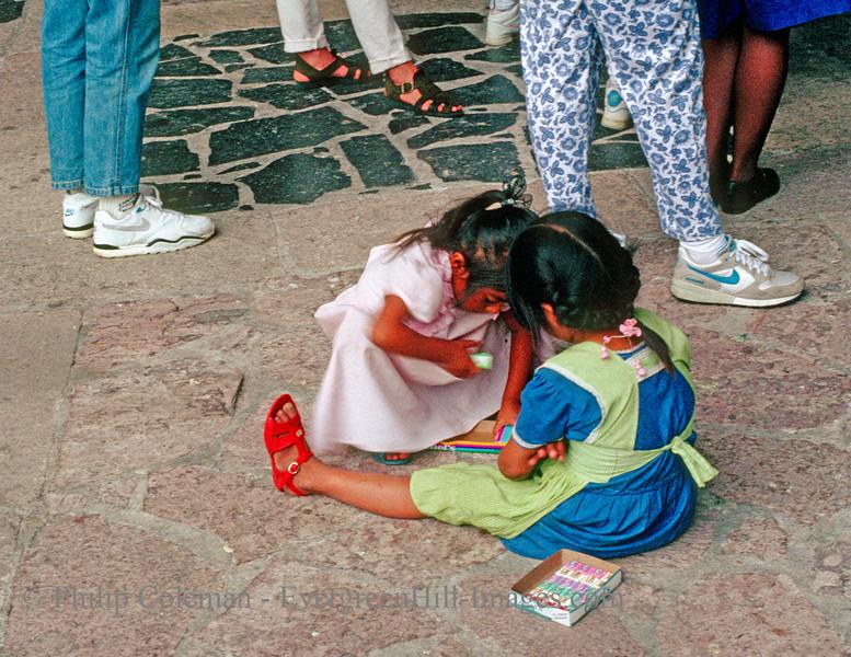 Chicklet kids, Tasco, Mexico
