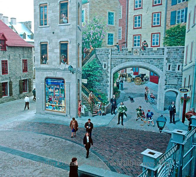 Street scene, Quebec City