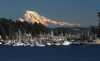 #4722 - Mt. Rainer from Gig Harbor.