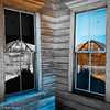 Rustic Corner Window