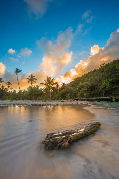 Playa Rincon. Samana Peninsula, Dominican Republic
