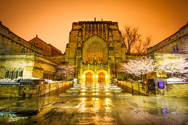 Sterling Memorial Library at Yale. New Haven, CT