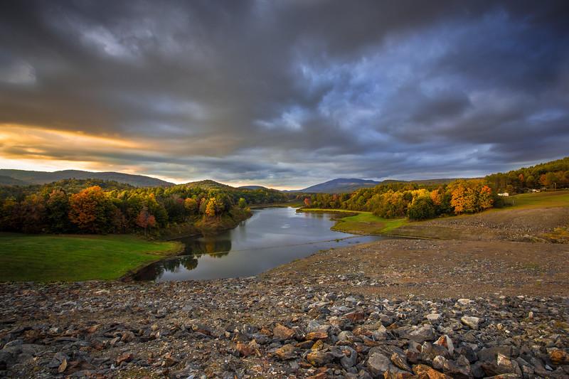 North Springfield Reservoir. North Springfield, VT