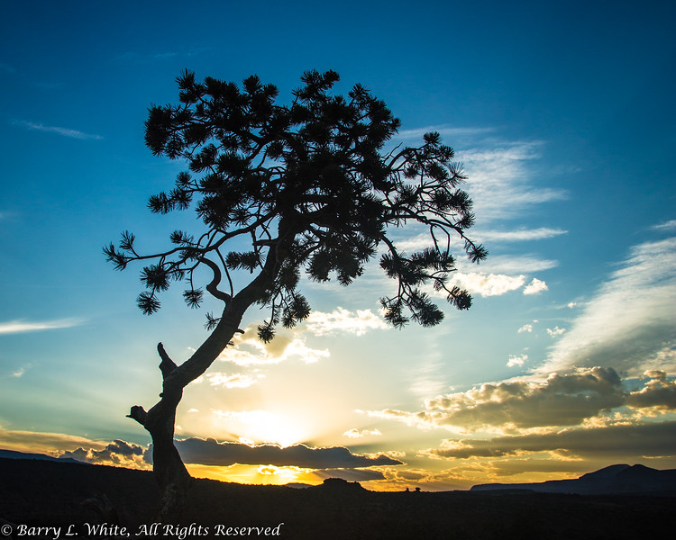 Sunset at Capitol Reef National Park