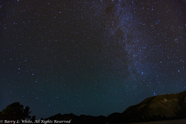 Milky Way and the Big Dipper