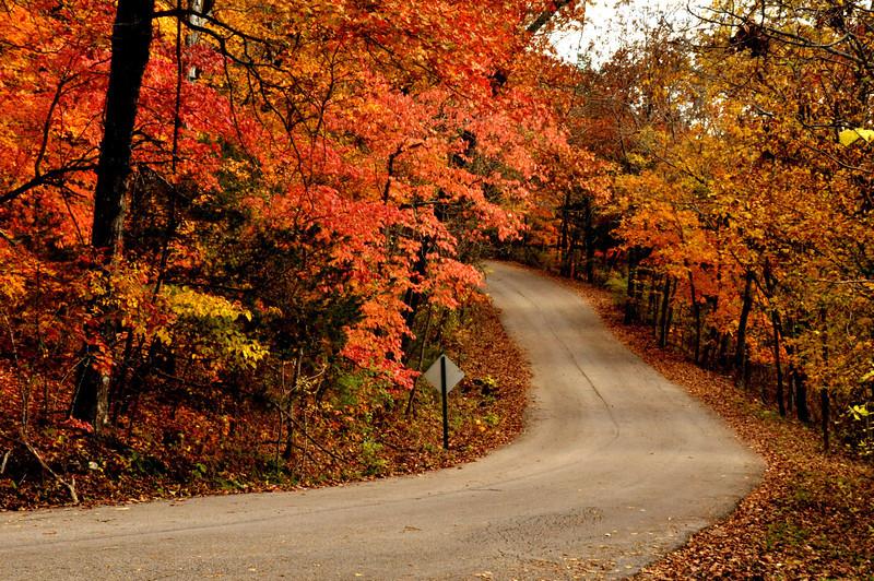 Fall. Eureka Springs, AR