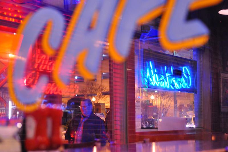 Blues City Cafe. Memphis