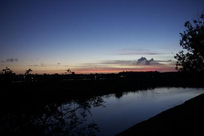 New Year's Eve, post-sunset, Pembroke Pines, Fla., Dec. 31, 2015.