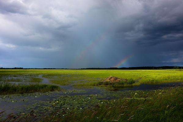 Double Rainbow Splendor at Crex