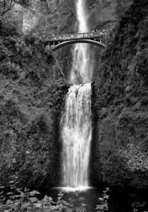 Multnomah Falls, Oregon July 5, 2005