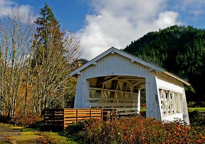 Sandy Creek Bridge, 1921, Remote, Oregon. November 26, 2005