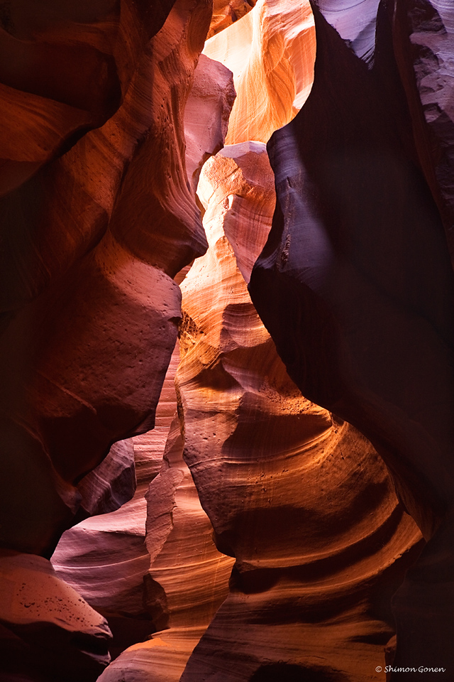 Upper Antelope slot canyon, Page Arizona
