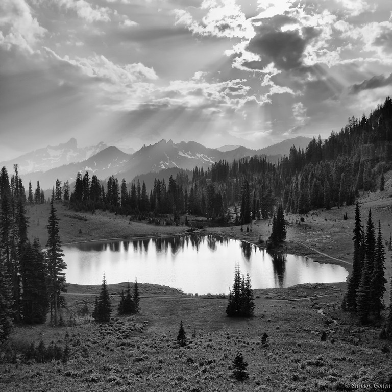 Tipsoo lake - Mt. Rainier, Washington