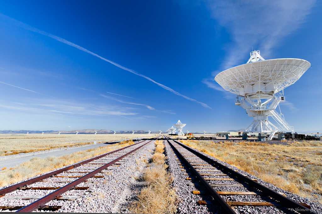 Very Large Array (VLA), New Mexico