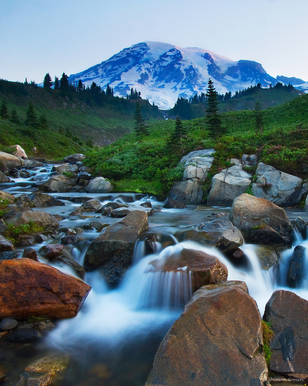 Edith Creek - Mt Rainier, Washington