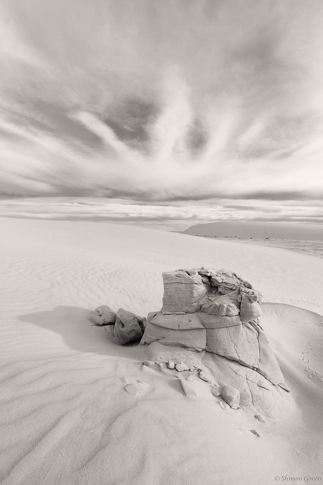 Sand Castle - White Sands, New Mexico