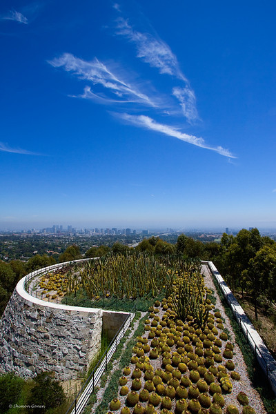 Getty Museum view - Los Angeles