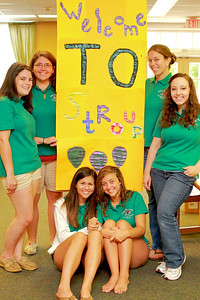 Orientation Weekend, August 2010.