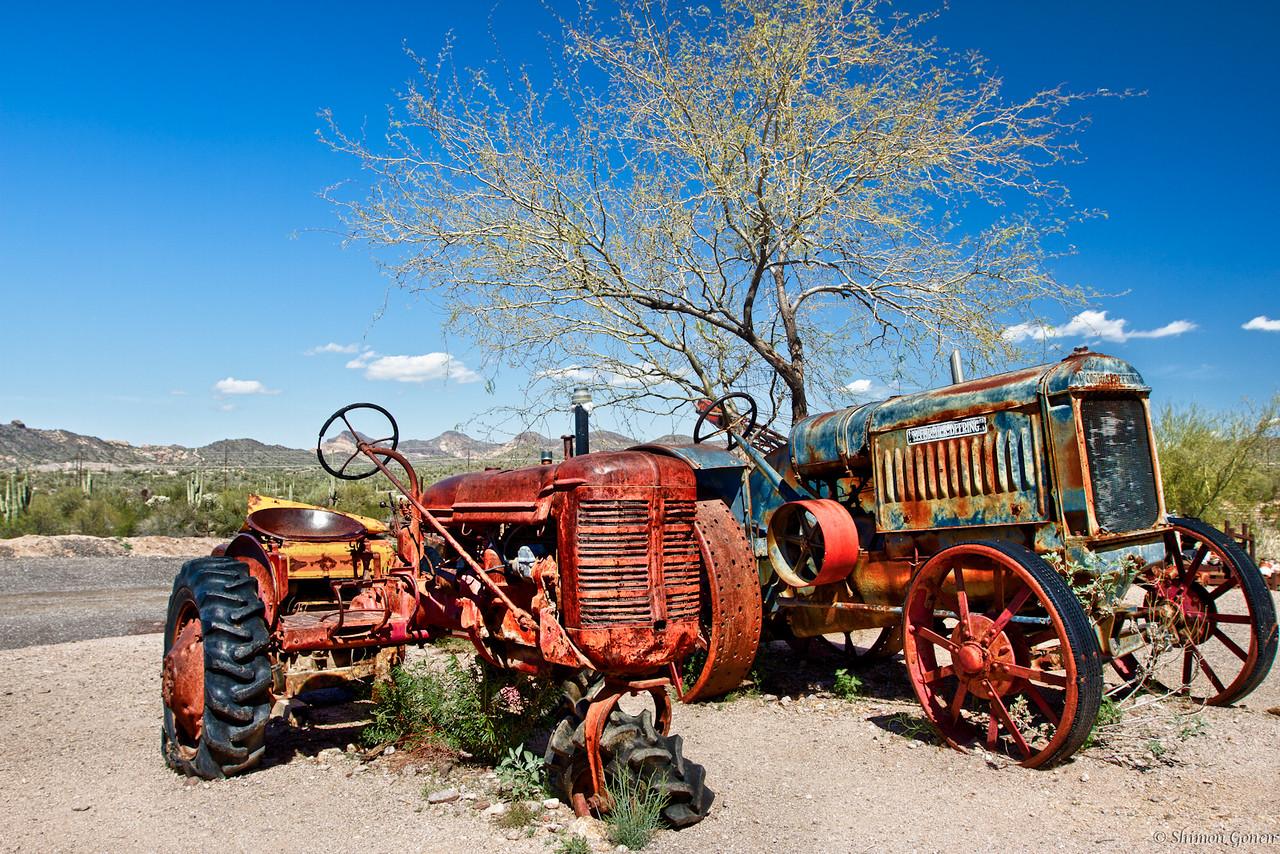 Ghost town, Apache Junction Arizona