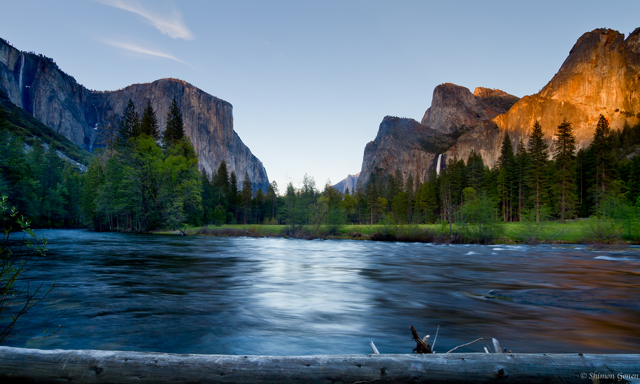 Valley View sunset - Yosemite