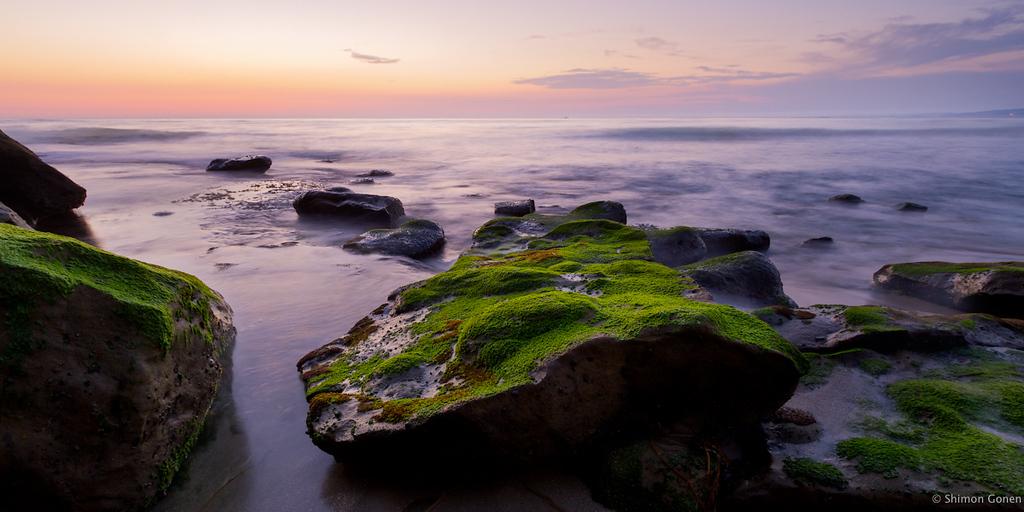 Rocks on the beach - La Jolla
