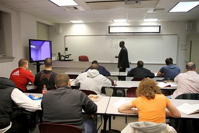Smart Classroom in Hamrick Hall; January 2011.