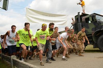 Start of the team race.