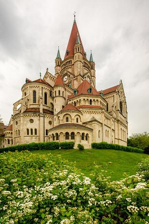 Franz von Assissi Church - Vienna, Austria