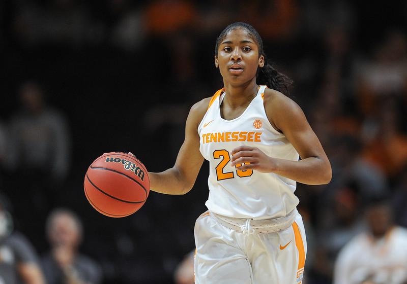 NCAA BASKETBALL: DEC 06 Women's - Virginia Tech at Tennessee