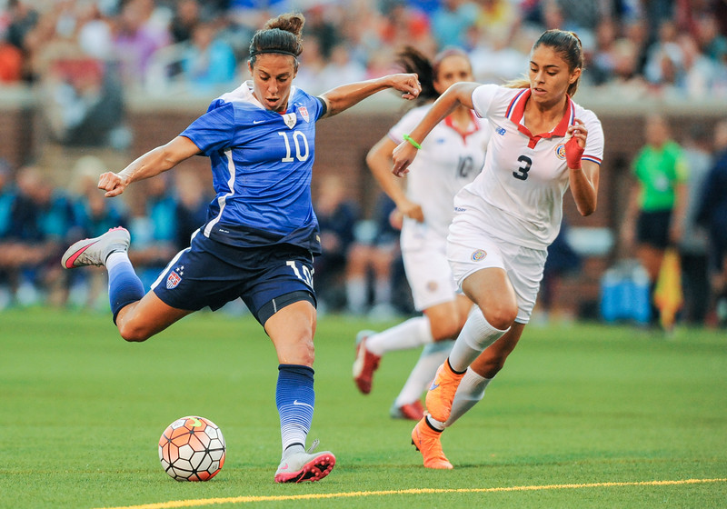 SOCCER: AUG 19 Women's - USA v Costa Rica