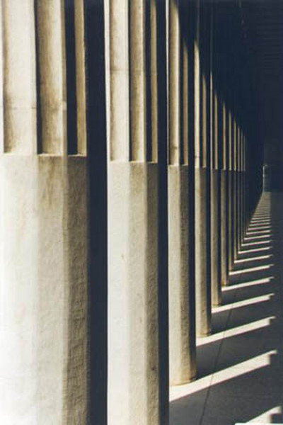 Roman Agora Columns (Athens, 1997).